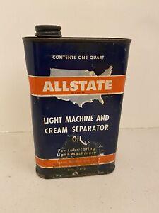VINTAGE ALLSTATE QT LIGHT MACHINE & CREAM SEPARATOR OIL CAN