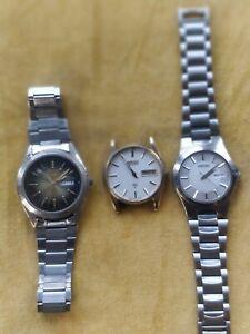 Small Joblot of 3 Seiko Quartz Watches