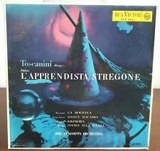 Toscanini Dirige L'Apprendista Stregone/Danza Macabra  Lp RCA Victor Red Seal 
