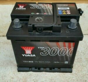 Yuasa YBX3012 12V Used Car Battery 50Ah 420A 012 Maintenance