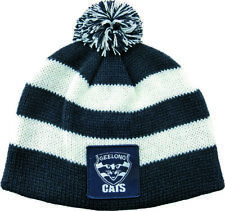 65164 GEELONG CATS AFL FOOTBALL KIDS BABY BEANIE