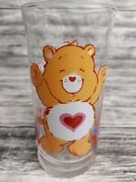 Vintage 1983 Pizza Hut Tenderheart Care Bear Drinking Glass Limited Edition