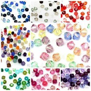 Fashion Jewelry 1000pcs Swarovski Crystal 2mm bicone beads #5301 U pick colors