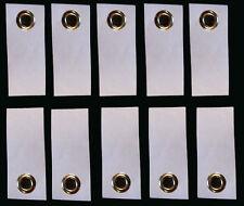 10  Adhesive Grommet Tabs, Peel @ Stick for Footprint, Tarp, Groundsheet, Tyvek