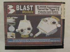 Blast Models Asymmetrical Turret for Tiger I E for Tamiya Academy 1/35