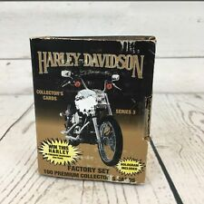 1993 Harley Davidson Series 3 Premium Collector's Cards IOB 100 Cards P