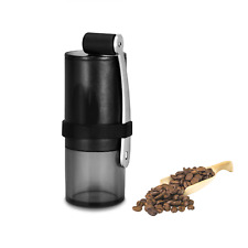 Hand Coffee Grinder Stainless Steel Burr Manual Portable Crank Mill 15g FREE SHP