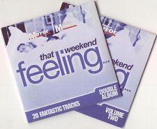 THAT WEEKEND FEELING: PROMO 2 CD SET / YAZOO, PEGGY LEE, DIVINE COMEDY, ERASURE