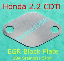 Blank Plate Honda 2.2 CDTi Civic Accord CR-V FR-V The EGR MUST be mapped out