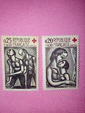 TIMBRE -  POSTZEGELS - FRANKRIJK - FRANCE - 1961 - 1323/24  ** (F 448)