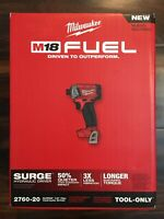 MILWAUKEE 2760-20 M18 FUEL SURGE 18V Brushless Cordless1/4 in. Hex Impact Driver