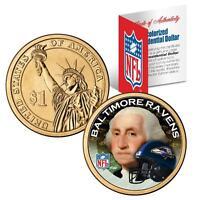 BALTIMORE RAVENS NFL US Mint PRESIDENTIAL Dollar Coin