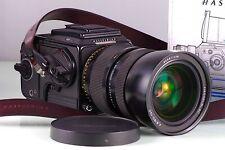 Premium Film SLR 6x6 HASSELBLAD 205TCC + 4.8 60-120 T Fe +E12 + Wlf Excellent