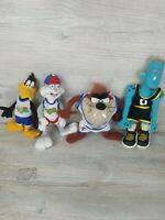1996 Space Jam McDonalds Looney Tunes Plush Toys Lot of 4