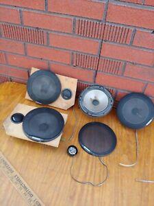 "6 vintage Pioneer TS-C1652 Two Way 5 1/4"" Component 3 dome tweeters japan"