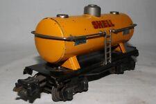 1930's Lionel #2654 Shell Oil Tank Car, Original