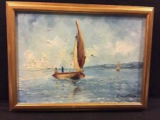 Eddy Moise oil painting original signed