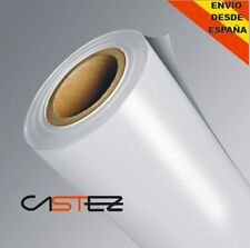 20 x30cm  VINILO BLANCO MATE - MATTE WHITE VINYL air free  libre burbujas