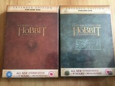 The Hobbit - An Unexpected Journey & Desolation Of Smaug Extended Edition DVD