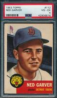 1953 Topps Set Break # 112 Ned Garver PSA 4 *OBGcards*