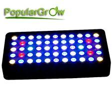 PopularGrow Dimmable 165W Full Spectrum LED Aquarium Light Fish Tank Reef Coral