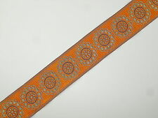 """01 Yd Jacquard Trim 01/"""" wide Woven Border Sew Embroidered Ribbon Lace T833"""