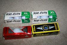 3 Sleeve Golf Balls Lot Nip Top Flite Xl, Titleist Nxt Tour Dt 2-Piece - G803