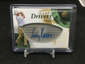 Corey Pavin Auto Autograph Inked Drivers SP Game Used golf 2013