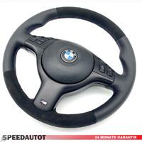 Lederlenkrad BMW E46 E39 Z3 M-Lenkrad mit ALCANTARA und Blende Airbag