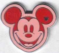 Disney Pin 66611 WDW - Hidden Mickey Series III - Colorful Mickeys - Orange