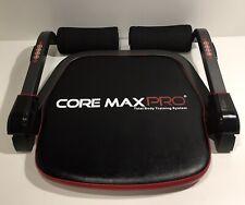 CORE MAX PRO ABS-totale corpo SMART 8 min Allenamento & Cardio Computer, Rosso e Nero