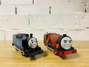 Hurricane & Steelworks Thomas - Thomas Motorised Trackmaster Trains not Tomy
