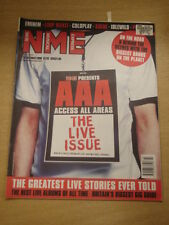NME 2000 OCT 28 EMINEM LIMP BIZKIT COLDPLAY SUEDE