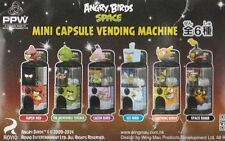 Angry Birds Super Red space mini gashapon vending machine Figure complete set x6