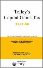 Capital Gains Tax Guide by Walton, Kevin, Flint, Andrew