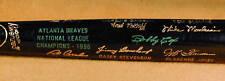 1996 Atlanta Braves World Series Black Bat NM-MT