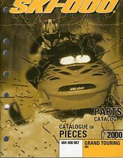 2000 SKI-DOO GRAND TOURING 600 PARTS MANUAL P/N 484 400 087  (410)