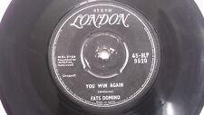 """FATS DOMINO  jambalaya rare SINGLE 7"""" 45 RPM INDIA INDIAN 71 VG"""
