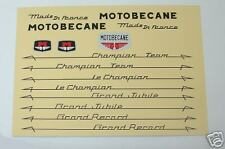 Motobecane full set of decals vintage