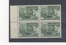Austria 1955 UNO MNH/MLH block of 4