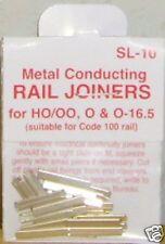 PECO Standard Metal Rail Joiners Code100 SL10