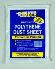 ProDec Advance Heavyweight Polythene Dust Sheet 12/' x 9/' Ft ADPY001