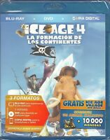 BLU-RAY ICE AGE 4            BR+DVD+COPIA DIGITA                      PRECINTADO