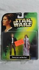 Star Wars Princess Leia Collection Leia and Han Solo Action Figure 1997
