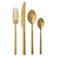NEW Maxwell & Williams Elemental 16-Piece Cutlery Set, Gold