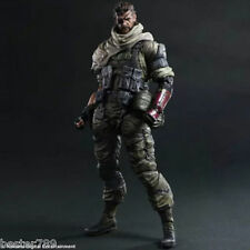 NEW Play Arts Kai Metal Gear Solid V The Phantom Pain Snake Action Figure Toys