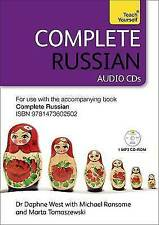 Complete Russian (Learn Russian With Teach Yourself): Audio Support by Daphne We