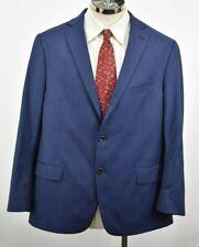 Hart Schaffner Marx Mens 100% Worsted Wool Navy Made in USA Custom Blazer 50R