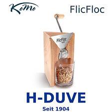 KoMo Getreideflocker FlicFloc Hand-Flockenquetsche mit Glas