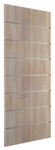 Ladeneinrichtung Lamellenwand Deko Wand Accessoire 600 x 1200 mm Eiche sägerau